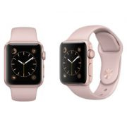 Watch Series 2 Aluminum (38mm), Rose Gold, White Sport Band