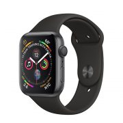 Watch Series 4 (44mm), Space Gray, Anthracite/Black Nike Sport Band