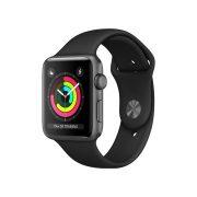 Watch Series 3 Aluminum (42mm), Space Gray, Black Nike Sport Loop