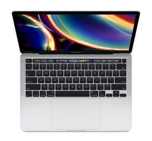 "MacBook Pro 13"" 2TBT Mid 2020 (Intel Quad-Core i5 1.4 GHz 8 GB RAM 512 GB SSD), Silver, Intel Quad-Core i5 1.4 GHz, 8 GB RAM, 512 GB SSD"