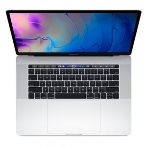 """MacBook Pro 15"""" Touch Bar Mid 2018 (Intel 6-Core i7 2.2 GHz 16 GB RAM 256 GB SSD), Silver, Intel 6-Core i7 2.2 GHz, 16 GB RAM, 256 GB SSD"""