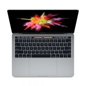"""MacBook Pro 13"""" 4TBT Mid 2017 (Intel Core i5 3.3 GHz 16 GB RAM 512 GB SSD), Space Gray, Intel Core i5 3.3 GHz, 16 GB RAM, 512 GB SSD"""