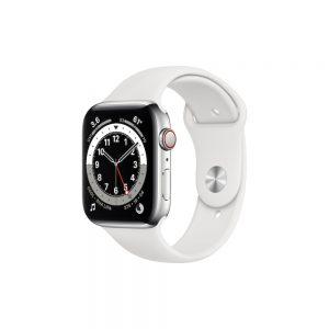 Watch Series 6 Aluminum Cellular (44mm), Silver